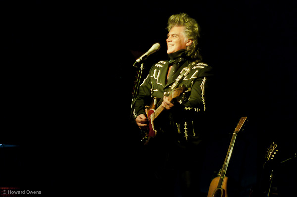 Marty Stuart on stage