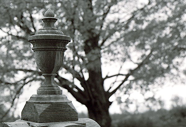 Grave stone top