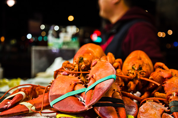 Fisherman's Wharf, Lobster