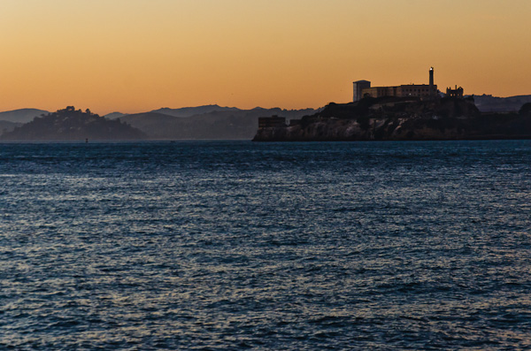 Alcatraz at Sunset