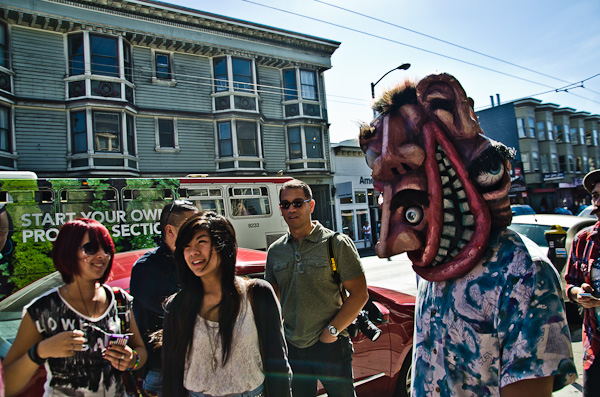 Monster on Haight