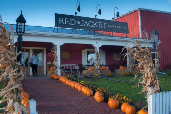 Tour of Red Jacket Orchards Farm Store.